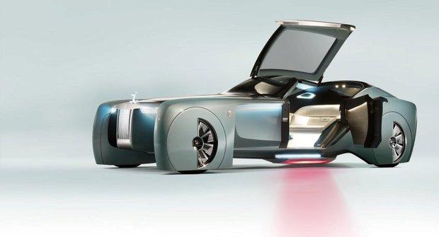 Rolls-Royce a Mini budoucnosti: Vision Next 100
