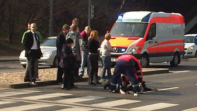 Opilý Janoušek srazil ženu.