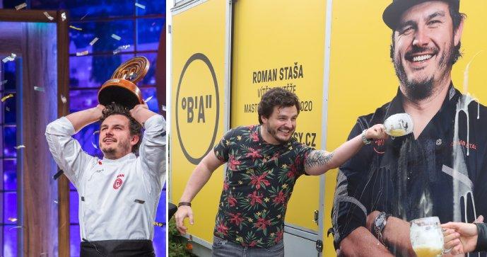 Vítěz soutěže MasterChef Roman Staša: Vaří v dodávce!