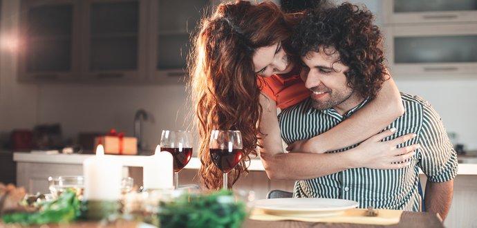 Romantické rande u vás doma