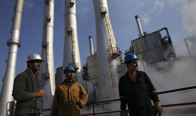 ropná rafinerie v Íránu