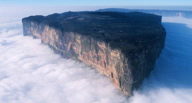 Podivuhodná místa: Roraima, hora jako z Minecraftu