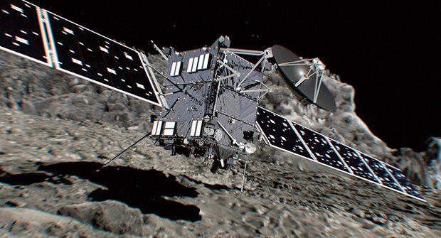 Na kometě: Konec mise sondy Rosetta