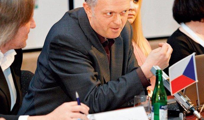 Ross Biggam na pražské konferenci DIGImedia 2011