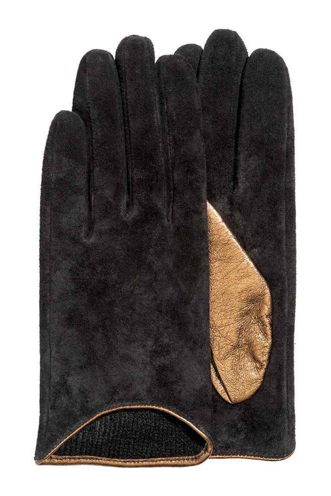 Semišové rukavice, 899 Kč, www2.hm.cz