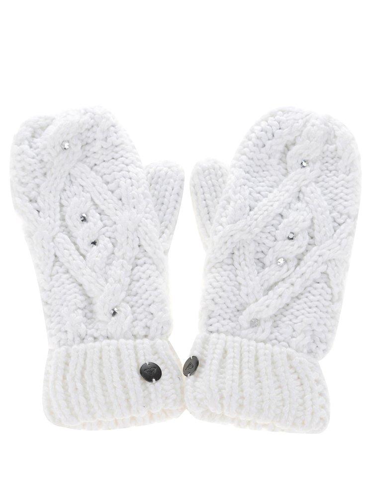 Bílé rukavice s aplikacemi Roxy Shootstarscarf, 689 Kč, www.zoot.cz