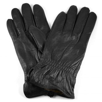 Černé kožené rukavice Ramo, 1249 Kč