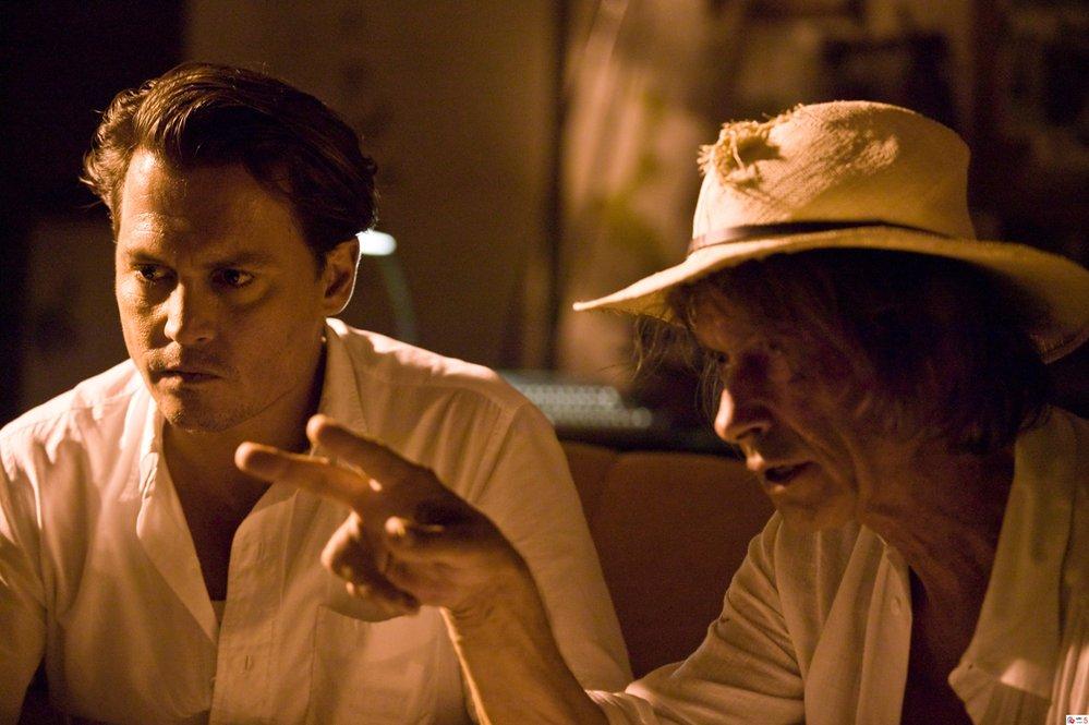 Rumovy denik Johny Depp film predloha Thompson 2011