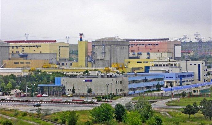 Rumunská jaderná elektrárna Cernavoda