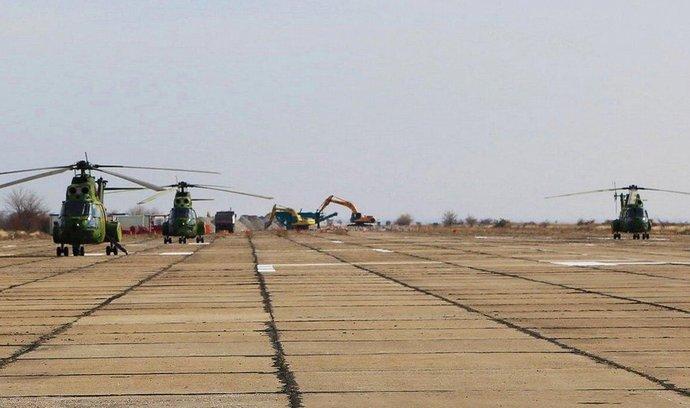 Rumunská základna Deveselu před zahájením rekonstrukce