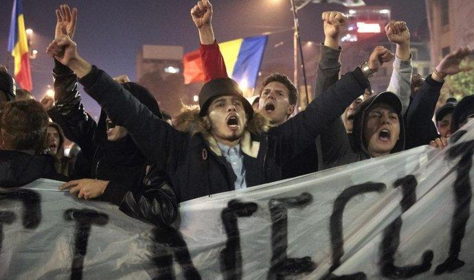 Rumunské protesty