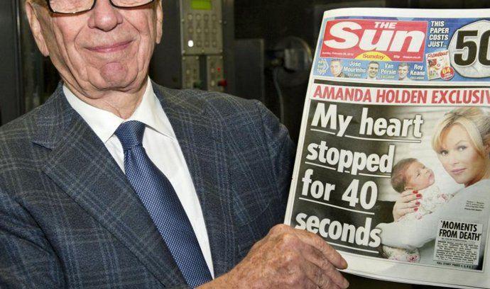 Rupert Murdoch s prvním číslem nového týdeníku