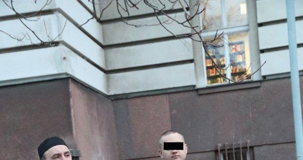 Rus, který zabil mladou cizinku v Praze na Nový rok, složil kauci 1 milion korun.