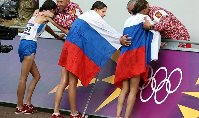 Ruské atletky