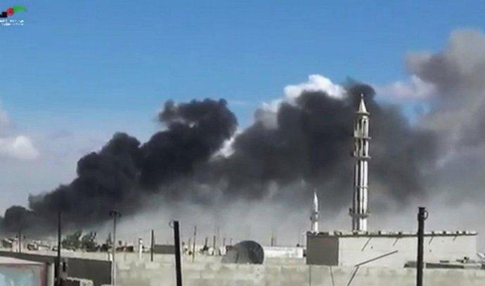 ruské nálety na Homs