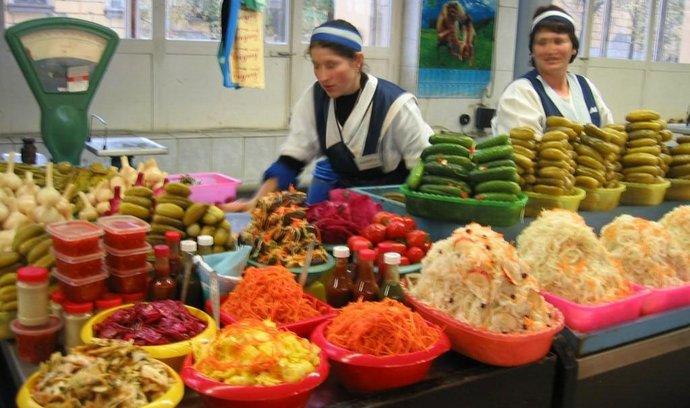Ruské potraviny - ilustrační foto