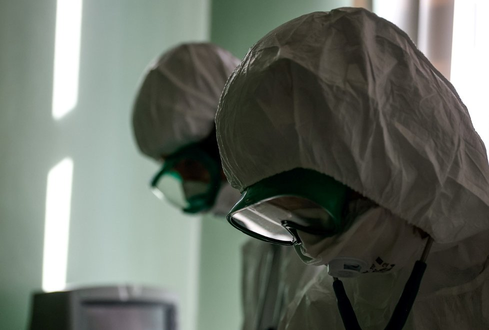 V Rusku se opět plní nemocnice (26.10.2021)