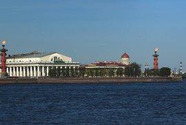 Ochránci moře: Dva monumentální sloupy sloužící i jako majáky zdobí Vasiljevský…