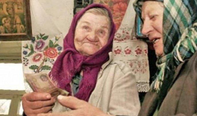 Russiký důchodkyně