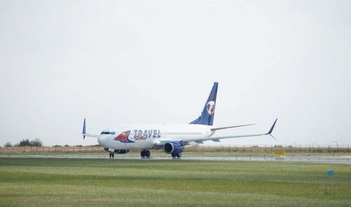 Boeing 737 společnosti Travel Service