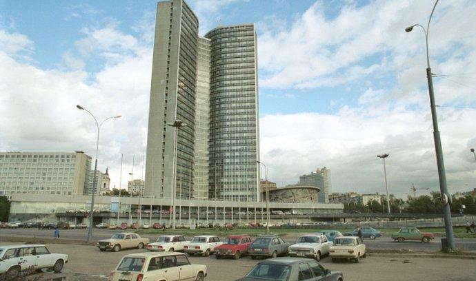Budova někdejší Rady vzájemné hospodářské pomoci (RVHP) v Moskvě.
