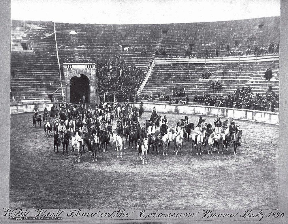 Atmosféru Divokého západu zažilo i římské Koloseum