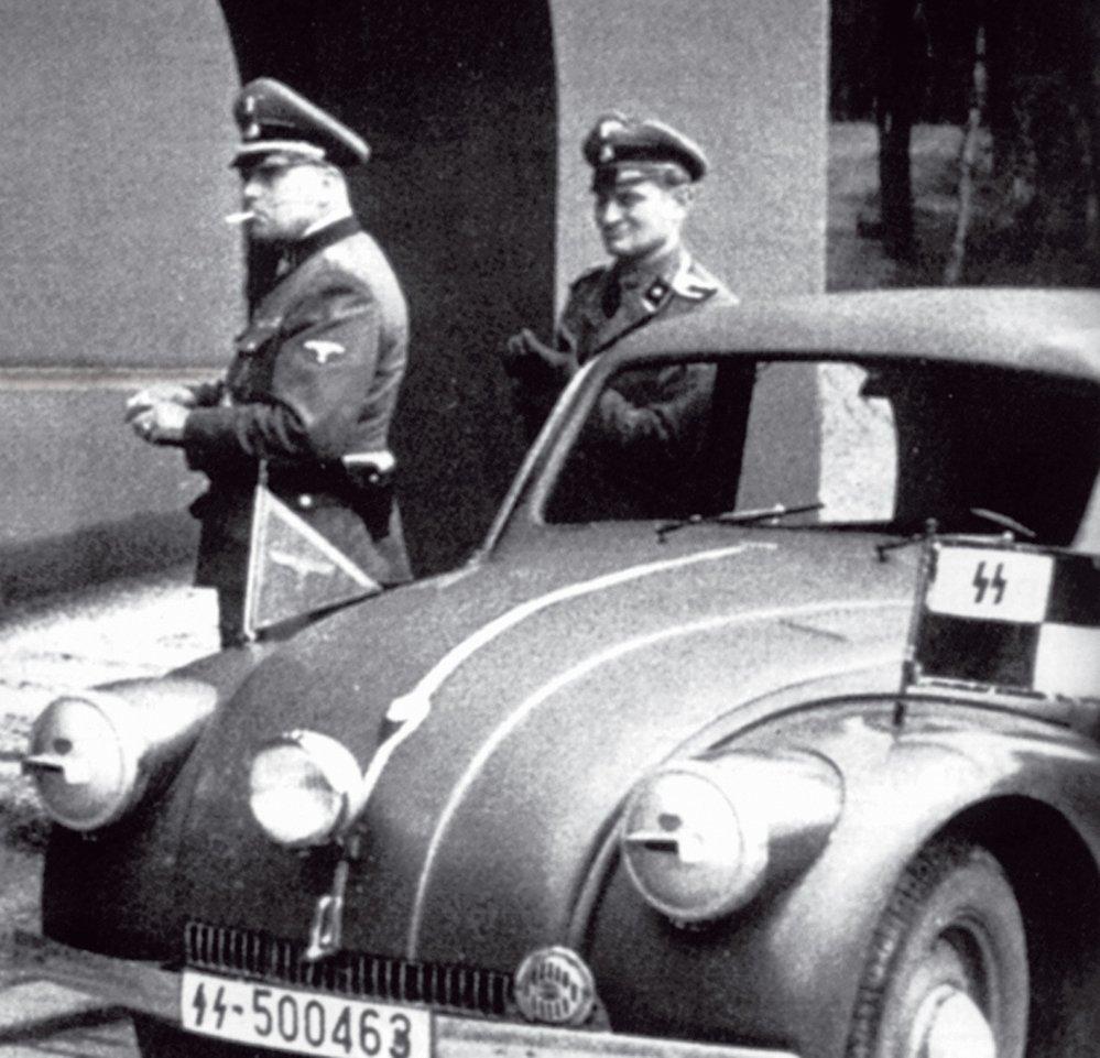 Oficíři si rychlé tatry velmi oblíbili...