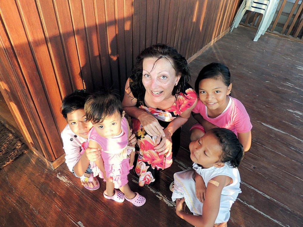 """Tereza Dvořáčková: """"Bělocha tyhle děti ještě nepotkaly."""""""