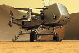 Létající robot pro svět metanu a ledu: Vážka bude hledat život na měsíci Titanu