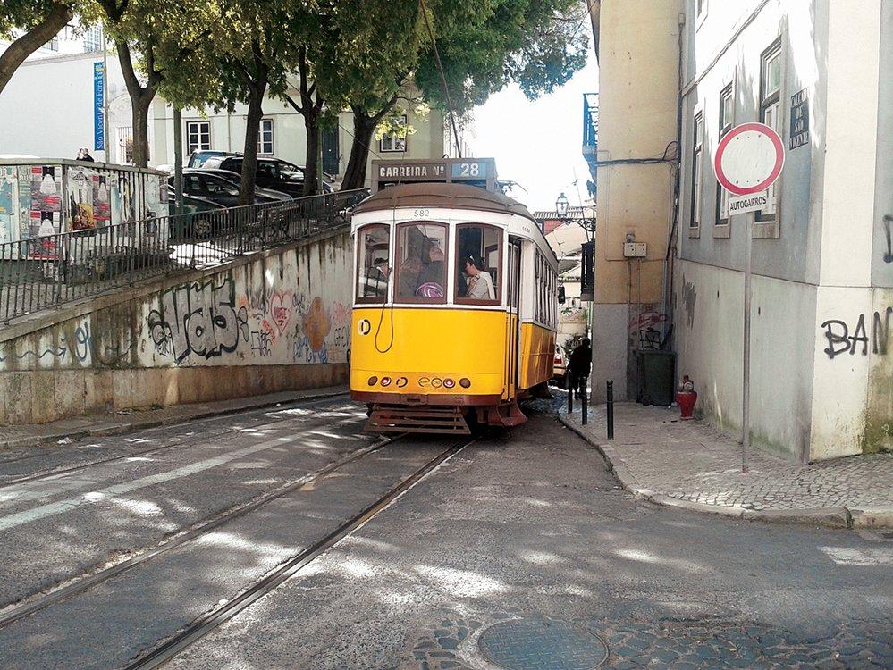 Lisabonské tramvaje  si uchovaly kouzlo starých časů