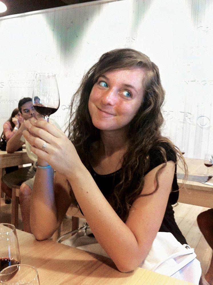 Hana Smiková  na výletě v Portu