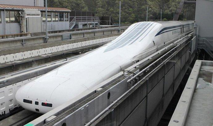 Rychlovlak maglev překonal rychlostní hranici 600 km/h