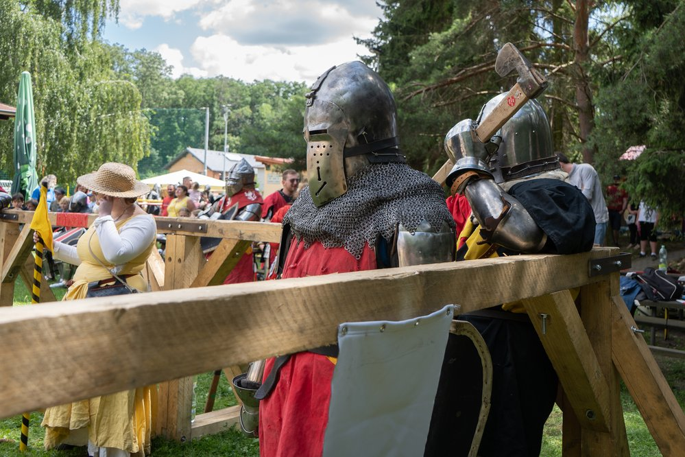Holubice Cup 2021 - Turnaj ve středověkém kontaktním boji