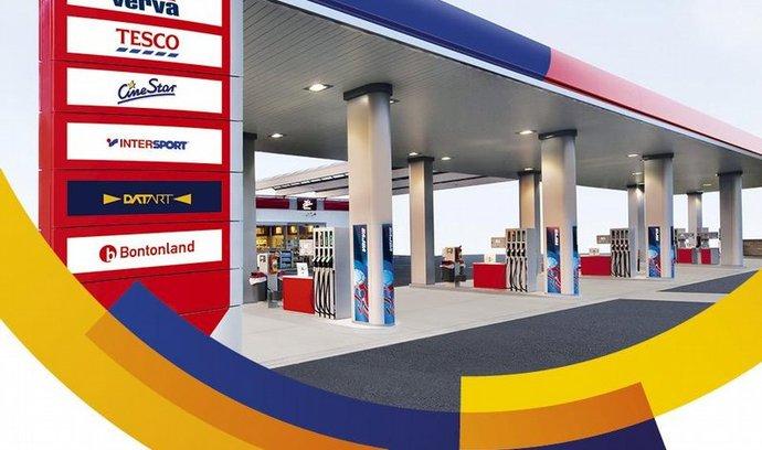 S Visou pro výhody k Benzině