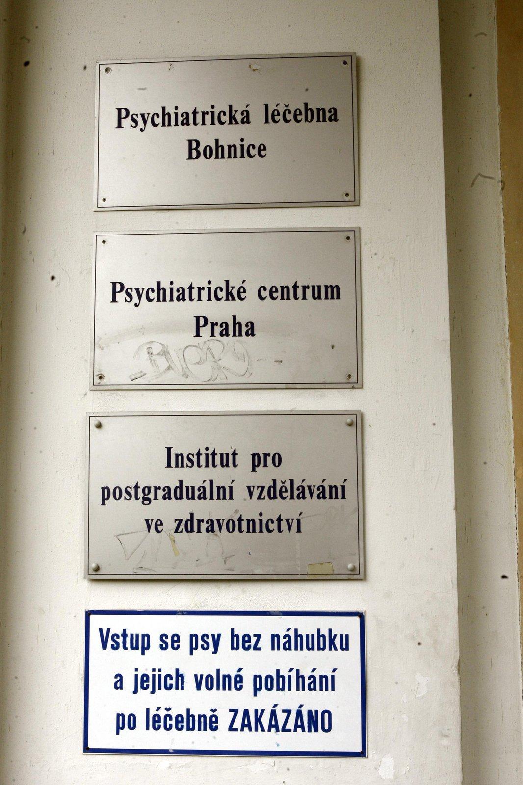 Deprese ji dohnaly do Bohnic.