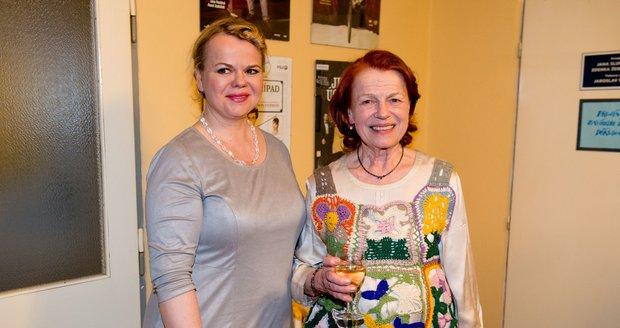 Sabina Remundová a její matka Iva Janžurová