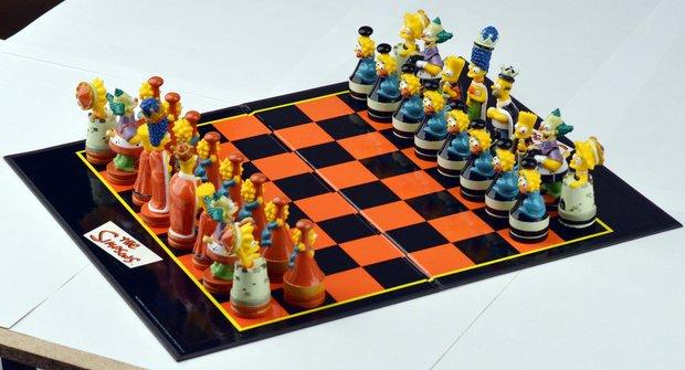 Simpsonovi se spojili s šachy