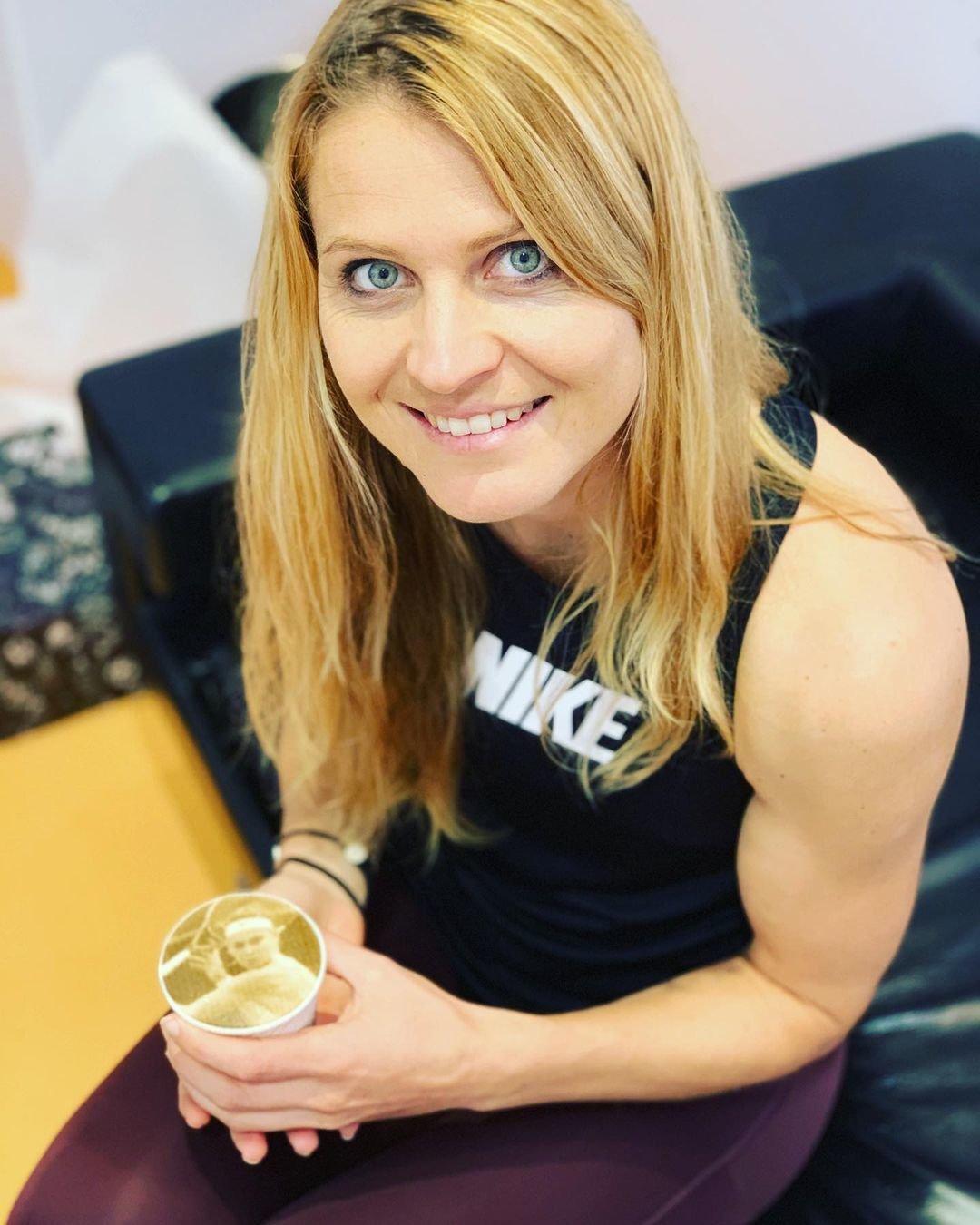 Bývalá tenistka Lucie Šafářová