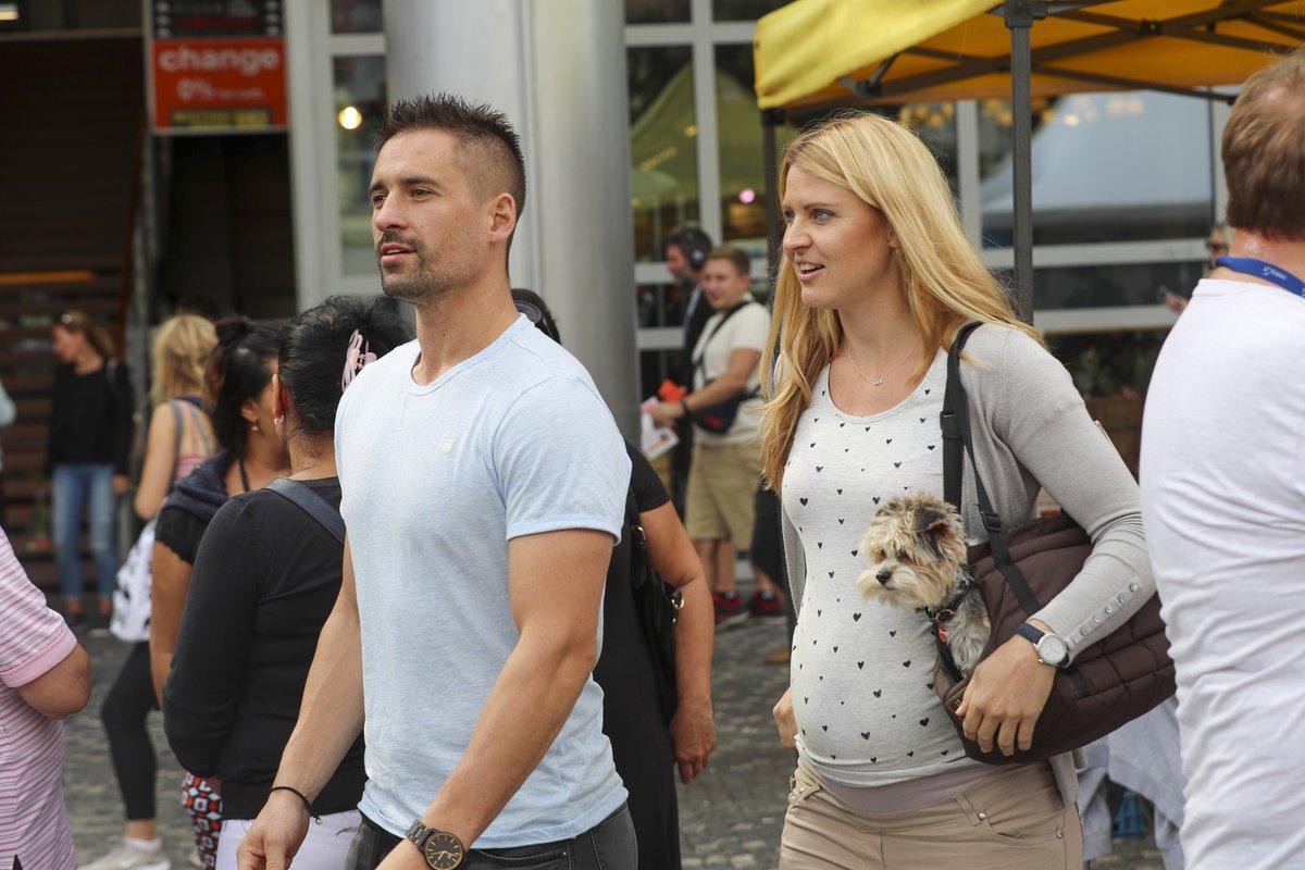 Lucie Šafářová a Tomáš Plekanec