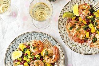 Krevetový salát s vůní exotiky: Svěží jídlo připravíte do 20 minut