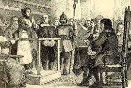 Při známých procesech v Salemu se čarodějnice neupalovaly, Američané jsou spíš na…