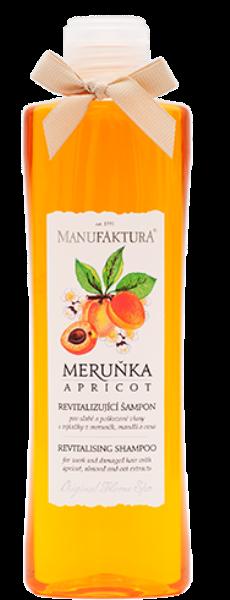 Revitalizující šampon pro poškozené vlasy Meruňka, Manufaktura, manufaktura.cz, 159 Kč