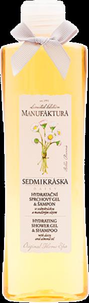 Hydratační sprchový gel a šampon Sedmikráska, Manufaktura, manufaktura.cz, 155 Kč