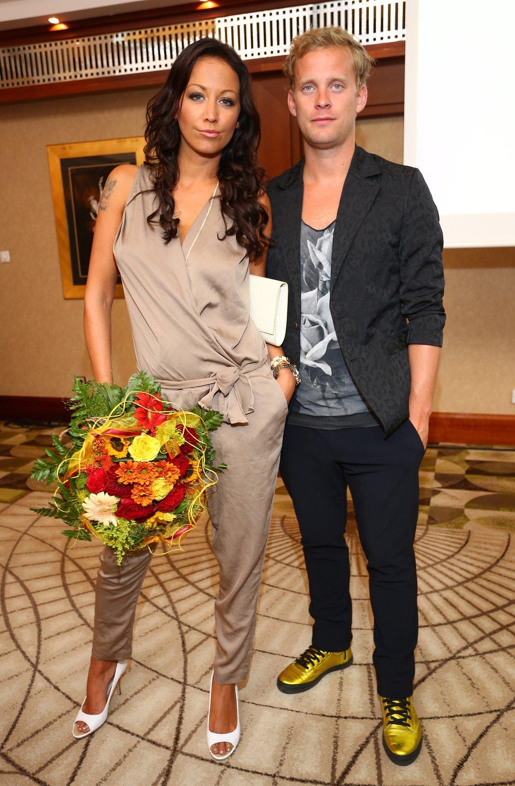 Jakub Prachař s Agátou Hanychovou
