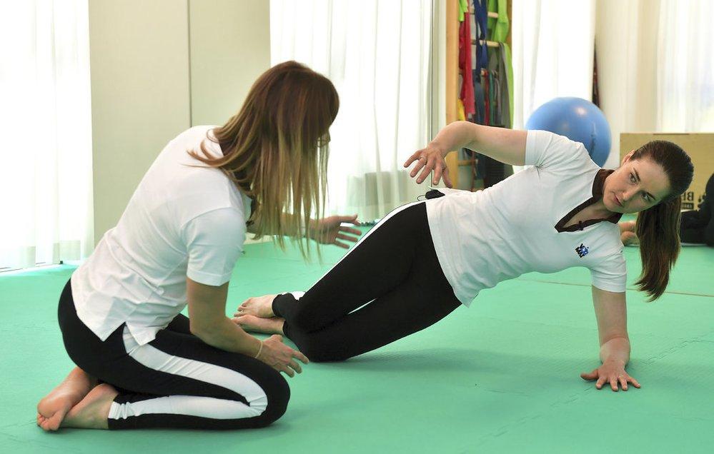 Šárka vám poradí, jak doma cvičit