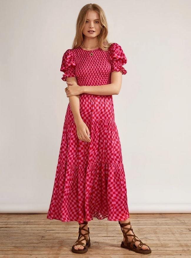 Kostkované šaty, Kitri Studio, 165 GBP