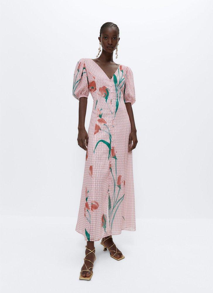 Květinové šaty, Üterque, 4350 Kč