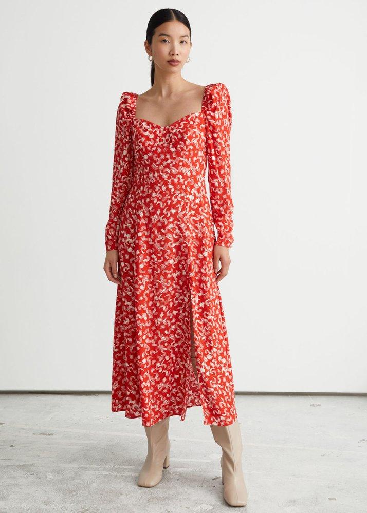 Midi šaty se vzorem, & Other Stories, 89 EUR