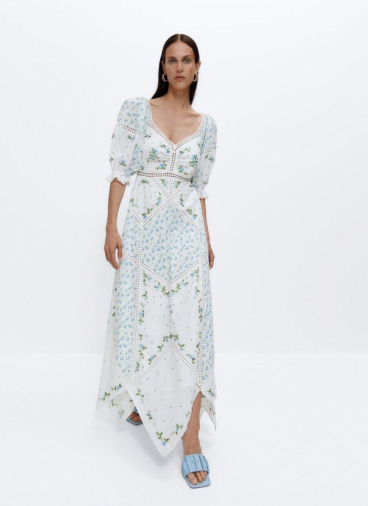 Šaty s mixem vzorů, Üterque, 5350 Kč