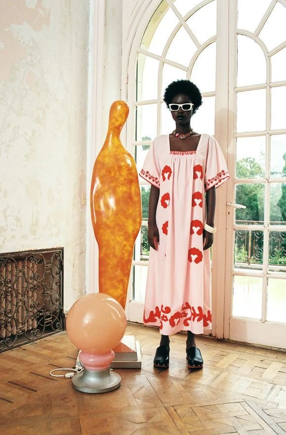 Šaty s výšivkou, Zara, 1999 Kč